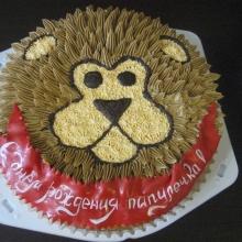 Кремовый торт №25
