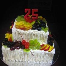 Кремовый торт №28
