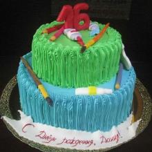 Кремовый торт №32
