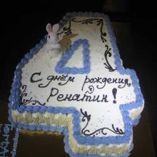 Кремовый торт №30