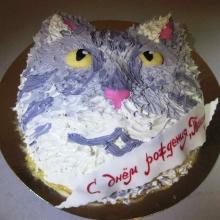 Кремовый торт №34