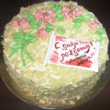 Кремовый торт №37