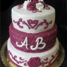 Торт Свадебный. №88