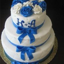 Торт Свадебный. №91