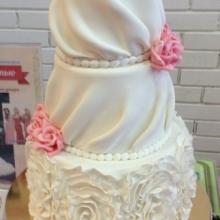 Торт под платье