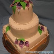 Торт свадебный. №5