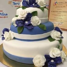 Торт свадебный 153