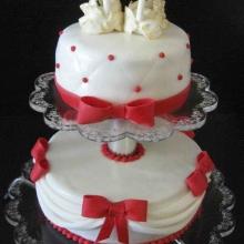 Торт свадебный №151