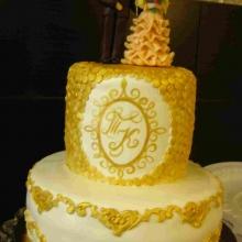 Торт свадебный № 152