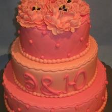 Торт Свадебный. №26 Авторский