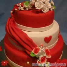 Торт Свадебный. №29 Авторский