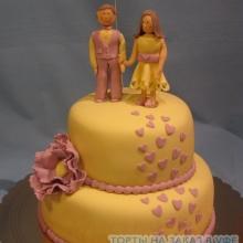 Торт Свадебный. №33