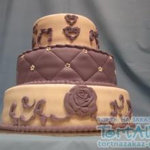Торт Свадебный. №35