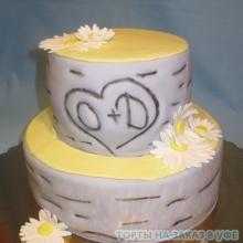 Торт Свадебный. №36