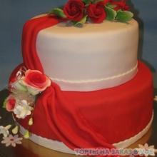 Торт Свадебный. №41