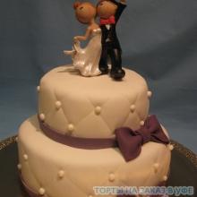 Торт Свадебный. №42