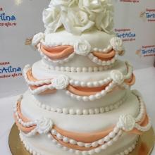 Торт свадебный 154