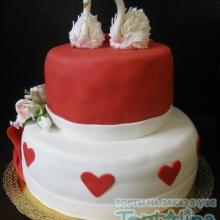 Торт Свадебный. №46