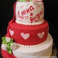 Торт Свадебный. №47
