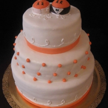Торт Свадебный. №49