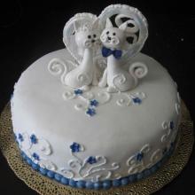 Торт Свадебный. №58
