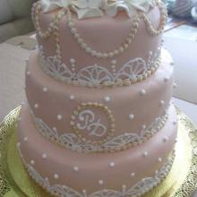 Торт Свадебный. №66