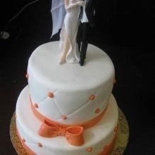 Торт Свадебный. №77