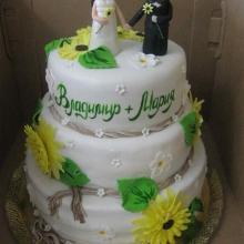 Торт Свадебный. №82