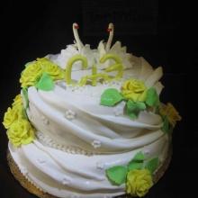 Торт Свадебный. №114