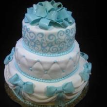Торт Свадебный. №112. Авторский