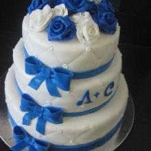 Торт Свадебный. №122