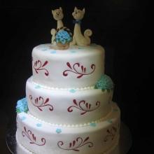 Торт Свадебный. №127