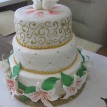 Торт Свадебный. №133