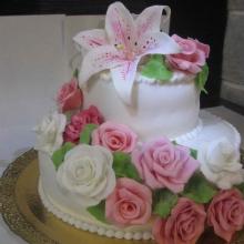 Торт Свадебный. №134. Авторский