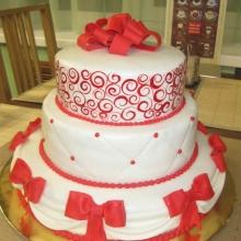 Торт Свадебный. №137. Авторский