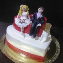 Торт Свадебный. №138