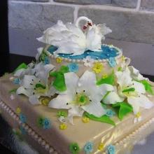 Торт Свадебный. №148. Авторский