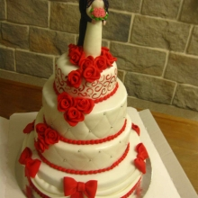 Торт Свадебный №144