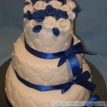 Торт Свадебный. №15 Авторский