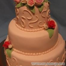 Торт Свадебный. №8