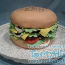 Торт Гамбургер. №2