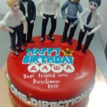 Торт с группой one direction