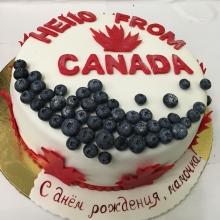 Торт привет из канады