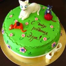 Торт Кошки