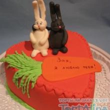 Торт Зайцы