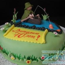 Торт для рыбака. №3