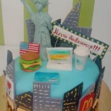 Торт привет из Америки