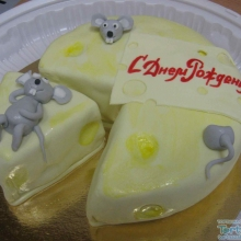 Торт Мышки в сыре