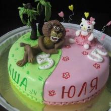 Торт 2 половинки