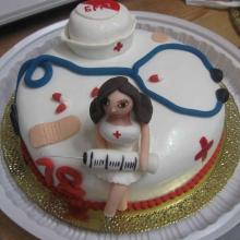 Торт медработнику №1